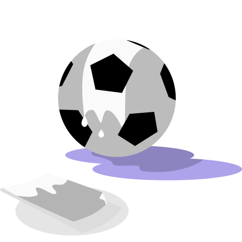 How to clean a soccer ball guide